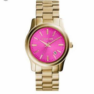 Pink face Michael Kors Watch